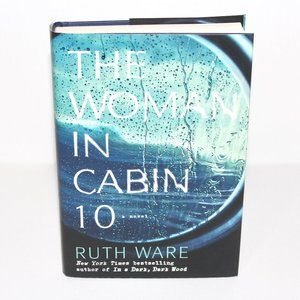 Hardcover Book The Woman In Cabin 10 Ruth Ware
